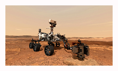 motion control - application - mars rover